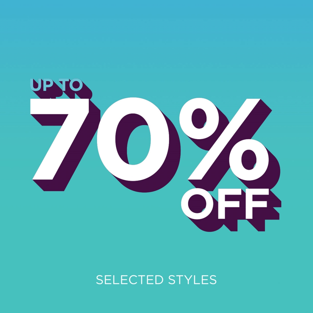 70% off Sign