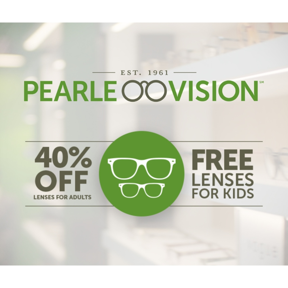 Pearle Vision Store offer