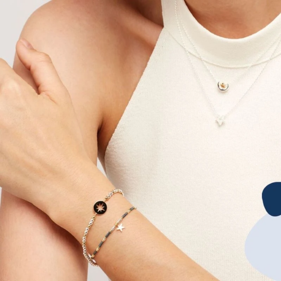 Joydrop charm bracelet and necklace