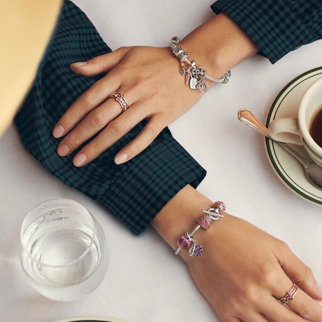 Silver Pandora bracelets
