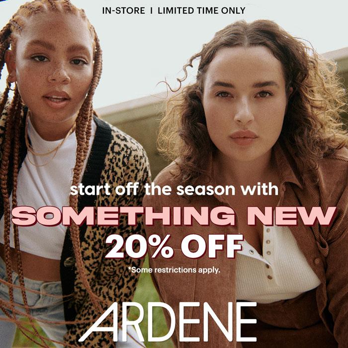 Promotional poster for Ardene