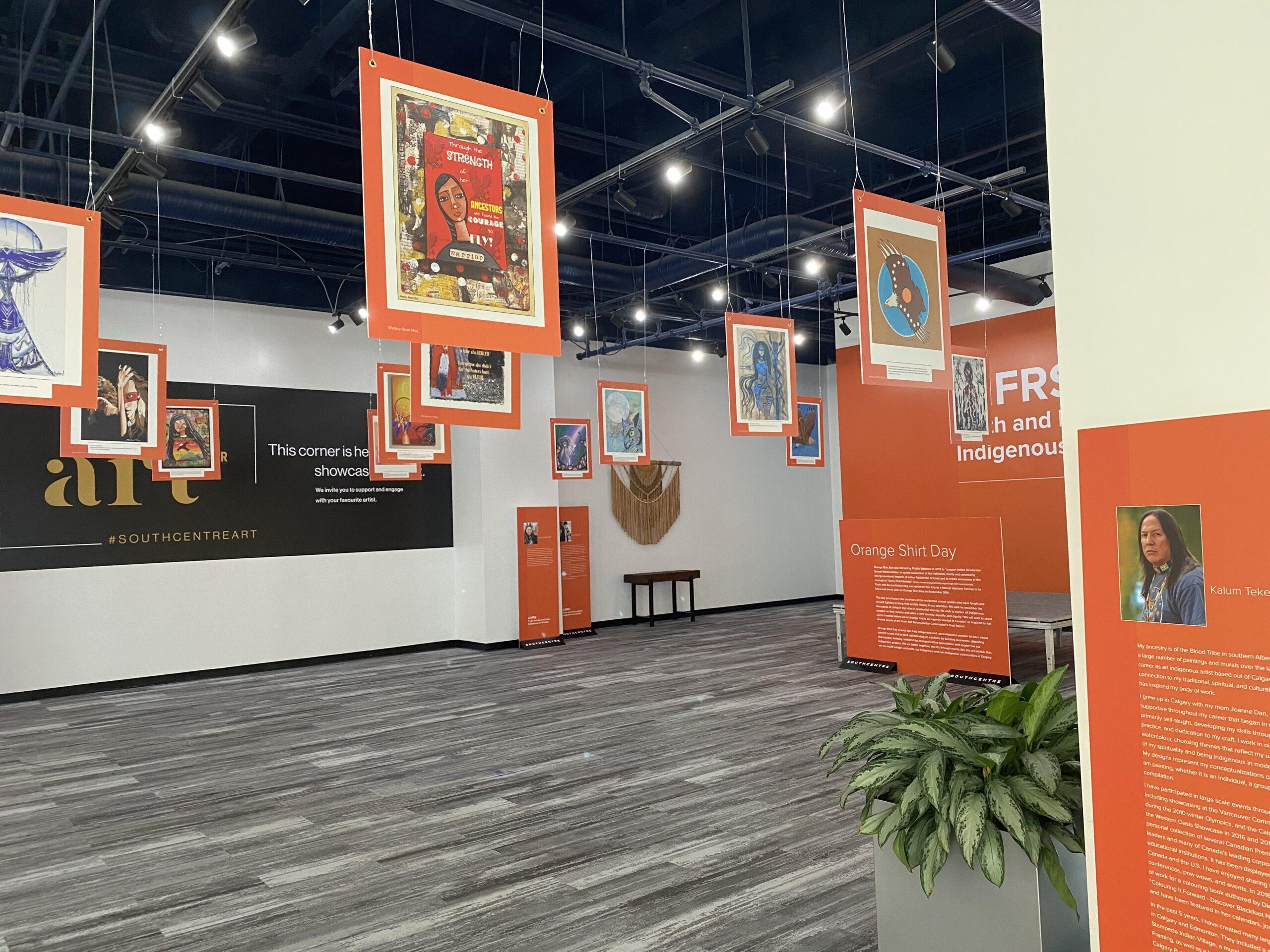 CIFRS Truth & Reconciliation Art Exhibit
